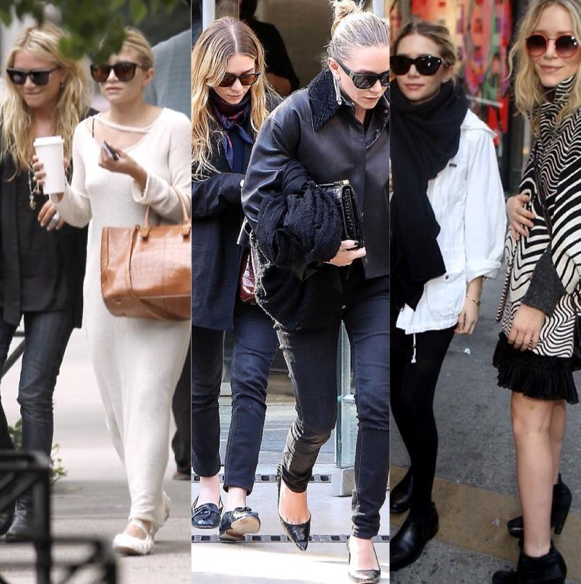 b0906f995 Sobre as irmãs Olsen não precisamos falar muito, né? Mesmo fora do  trabalho, elas são sim total fashionista no dia-a-dia!