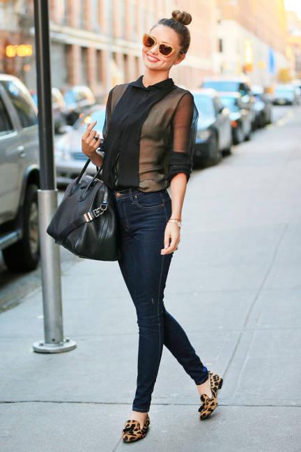 Street Style Miranda Kerr Wepick
