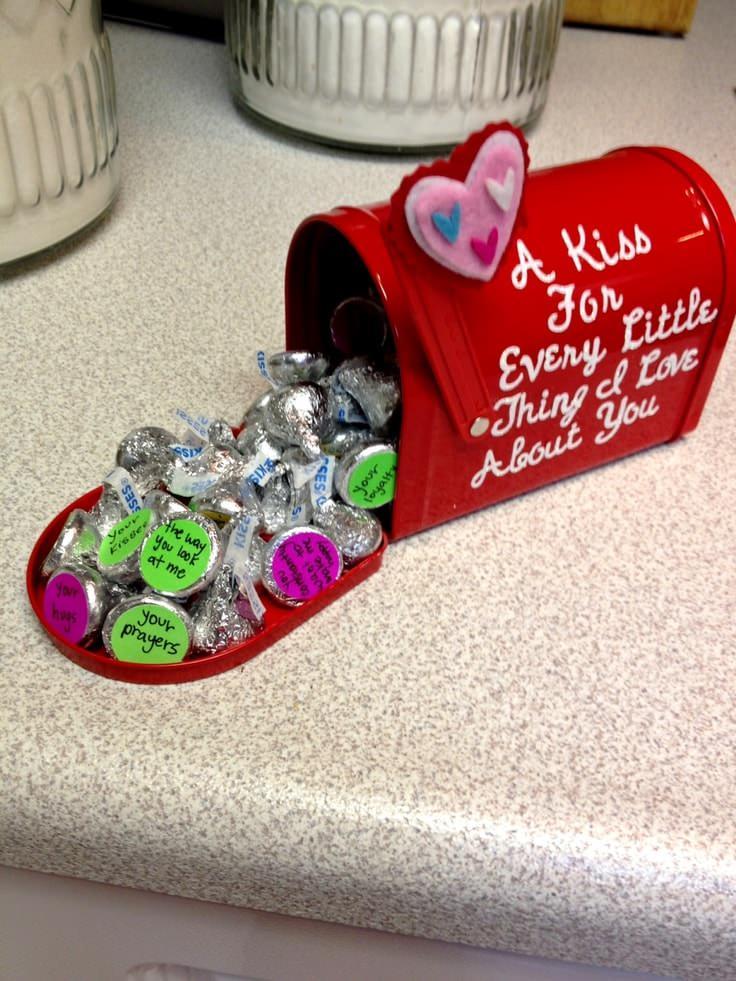 Se seu namorado/marido gosta de doces, vale usar chocolates para ...