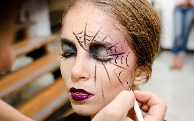 Inspire se com maquiagens para o halloween for Pinturas de cara para halloween