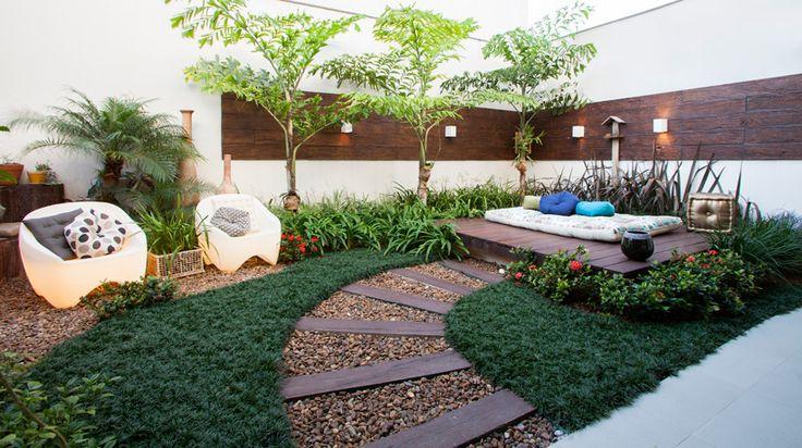 Jardins pequenos confira ideias de decoração